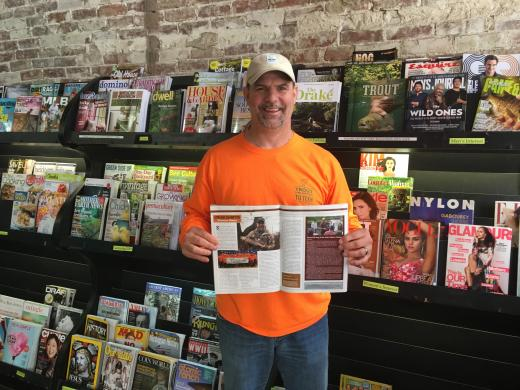 Advisor Shannon Mayes featured in TROUT Magazine
